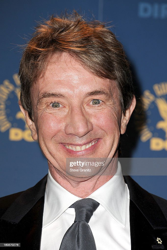 Presenter Martin Short poses in the press room at the 65th Annual Directors Guild Of America Awards at The Ray Dolby Ballroom at Hollywood & Highland Center on February 2, 2013 in Hollywood, California.