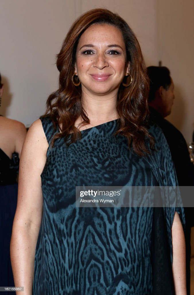 Presenter Maya Rudolph attends the 15th Annual Costume Designers Guild Awards with presenting sponsor Lacoste at The Beverly Hilton Hotel on February 19, 2013 in Beverly Hills, California.