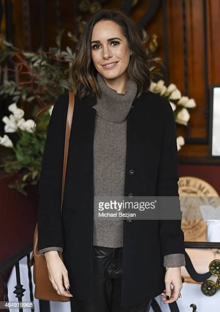 Presenter Model and Fashion Journalist Louise Roe attends International Style Institute With Allure Cocktail Reception At The Grove's Whisper Lounge...
