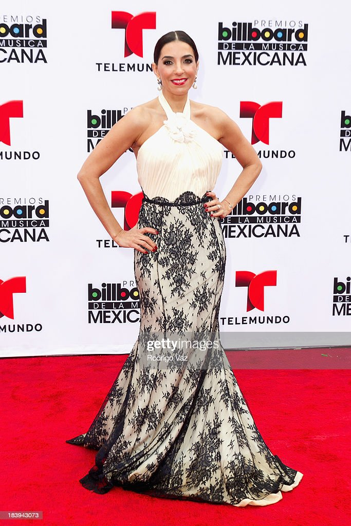 Presenter Monica Noguera attends the 2013 Billboard Mexican Music Awards arrivals at Dolby Theatre on October 9, 2013 in Hollywood, California.