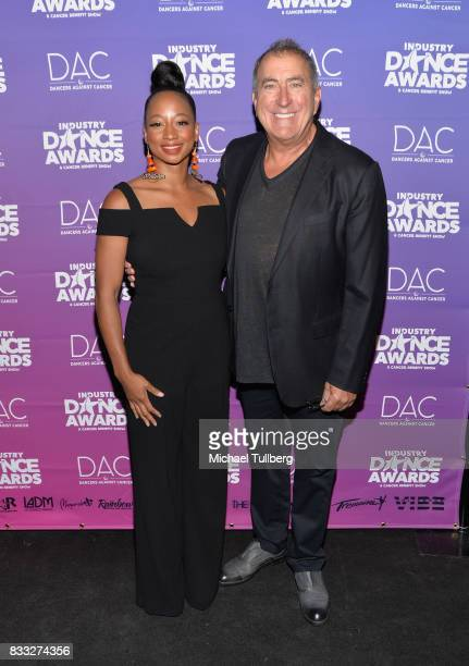 Presenter Monique Coleman and producer Kenny Ortega attend the 2017 Industry Dance Awards and Cancer Benefit Show at Avalon on August 16 2017 in...