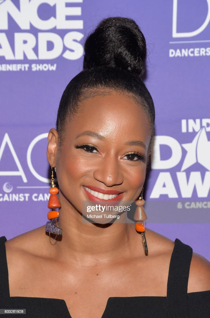 Presenter Monique Coleman attends the 2017 Industry Dance Awards and Cancer Benefit Show at Avalon on August 16, 2017 in Hollywood, California.