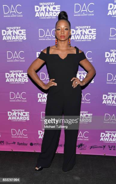 Presenter Monique Coleman attends the 2017 Industry Dance Awards and Cancer Benefit Show at Avalon on August 16 2017 in Hollywood California