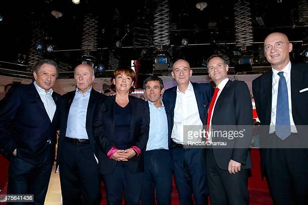 Presenter of the show Michel Drucker Olivier Mazerolle Nathalie SaintCricq Main Guest of the show David Pujadas Francois Lenglet Fabien Namias and...