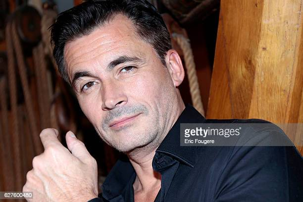 Presenter Olivier Minne Photographed in PARIS