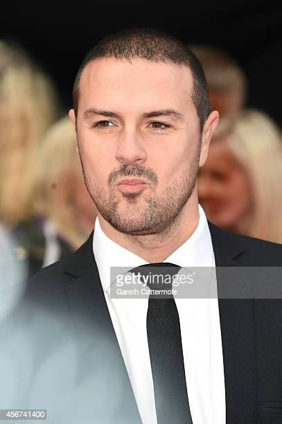 Presenter Paddy McGuinness attends the Pride of Britain awards at The Grosvenor House Hotel on October 6 2014 in London England