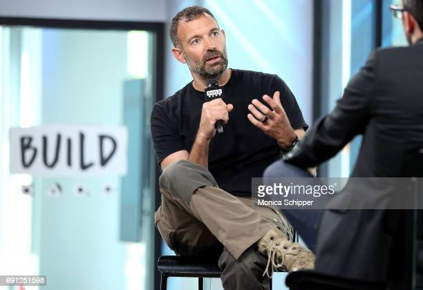 TV presenter Paul Mungeam speaks on stage during Build presents Paul Mungeam discussing 'Expedition Mungo' at Build Studio on June 1 2017 in New York...