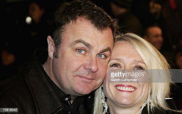 TV presenter Paul Ross and wife attend the British Comedy Awards 2006 at the ITV London Television Studios on December 13 2006 in London England
