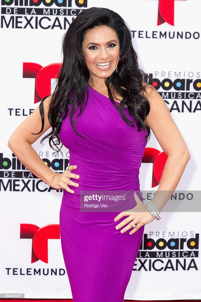 TV presenter Penelope Menchaca attends the 2013 Billboard Mexican Music Awards arrivals at Dolby Theatre on October 9, 2013 in Hollywood, California.