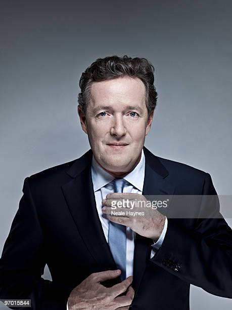 TV presenter Piers Morgan poses for a portrait shoot in London December 17 2009