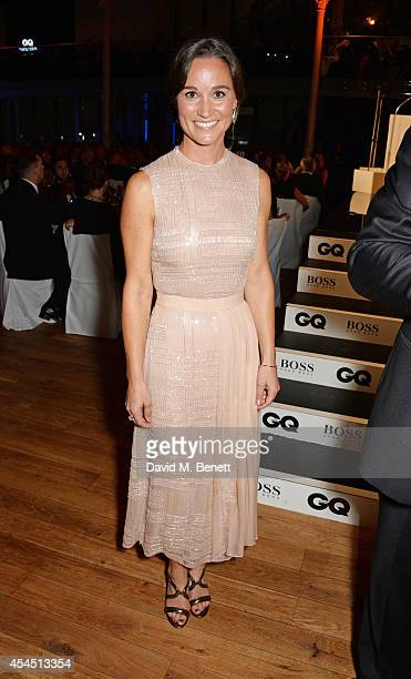 Presenter Pippa Middleton attends the GQ Men Of The Year awards in association with Hugo Boss at The Royal Opera House on September 2 2014 in London...