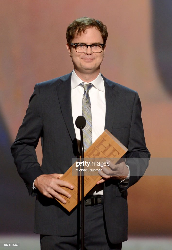 Presenter <a gi-track='captionPersonalityLinkClicked' href=/galleries/search?phrase=Rainn+Wilson&family=editorial&specificpeople=534993 ng-click='$event.stopPropagation()'>Rainn Wilson</a> speaks onstage during the CNN Heroes: An All Star Tribute at The Shrine Auditorium on December 2, 2012 in Los Angeles, California. 23046_006_MB_0975.JPG