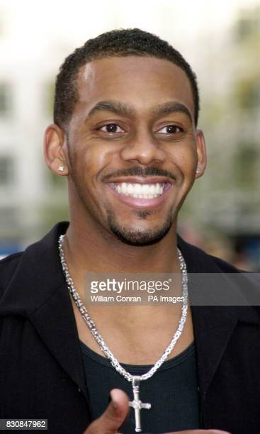 TV presenter Richard Blackwood arrive at the British Academy Television Awards at the Theatre Royal Drury Lane in London