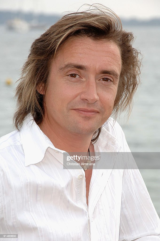 TV presenter <a gi-track='captionPersonalityLinkClicked' href=/galleries/search?phrase=Richard+Hammond&family=editorial&specificpeople=2540628 ng-click='$event.stopPropagation()'>Richard Hammond</a> attends a photocall for 'Blast Lab' at Majestic Beach Pier during the 25th MIPCOM on October 5, 2009 in Cannes, France.