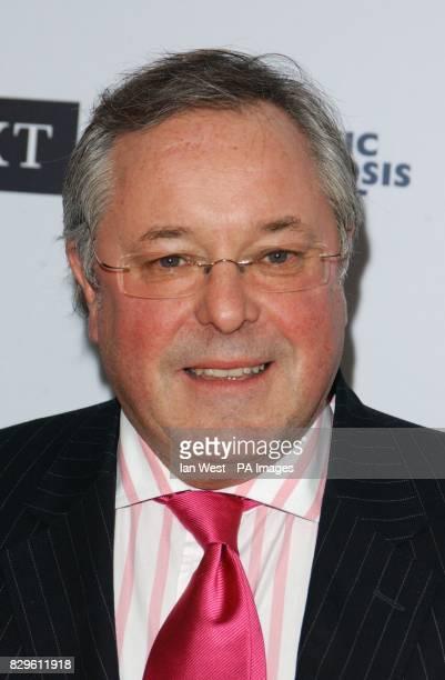 TV presenter Richard Whiteley arrives