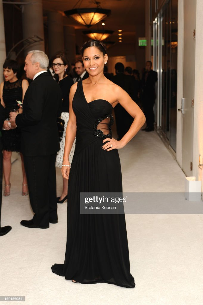 Presenter Salli Richardson-Whitfield attends the 15th Annual Costume Designers Guild Awards with presenting sponsor Lacoste at The Beverly Hilton Hotel on February 19, 2013 in Beverly Hills, California.