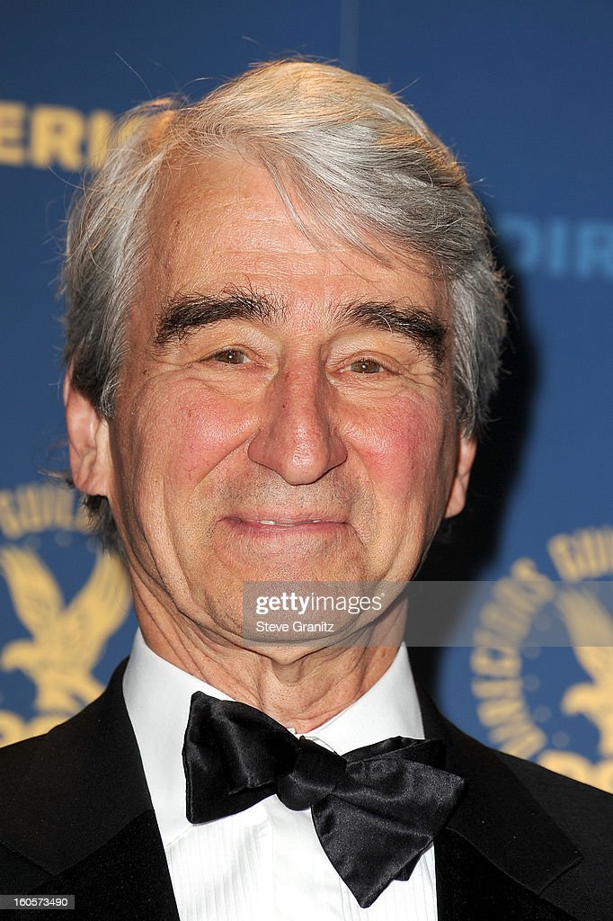 Presenter Sam Waterston poses in the press room at the 65th Annual Directors Guild Of America Awards at The Ray Dolby Ballroom at Hollywood & Highland Center on February 2, 2013 in Hollywood, California.