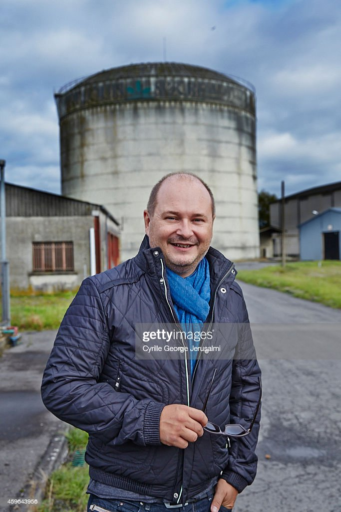 TV presenter <a gi-track='captionPersonalityLinkClicked' href=/galleries/search?phrase=Sebastien+Cauet&family=editorial&specificpeople=2362457 ng-click='$event.stopPropagation()'>Sebastien Cauet</a> is photographed for Gala on October 17, 2014 in Marle, France.