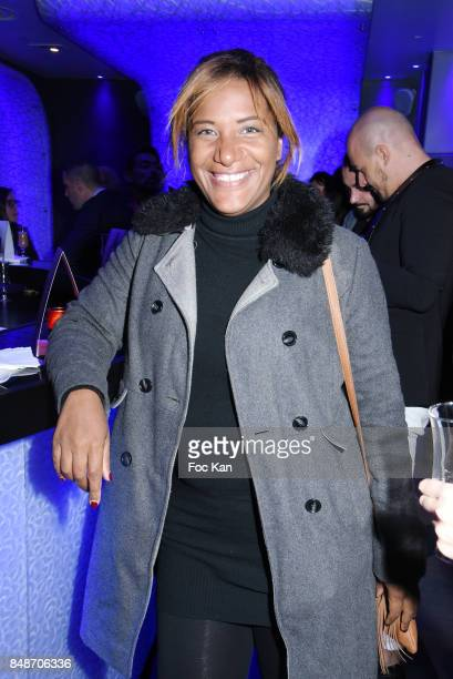 TV presenter Shana Delacroix attends 'Identik' by M Pokora Launch Party at Duplex Club on September 17 2017 in Paris France