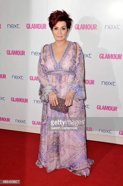 Presenter Sharon Osbourne attends the Glamour Women of the Year Awards at Berkeley Square Gardens on June 3 2014 in London England