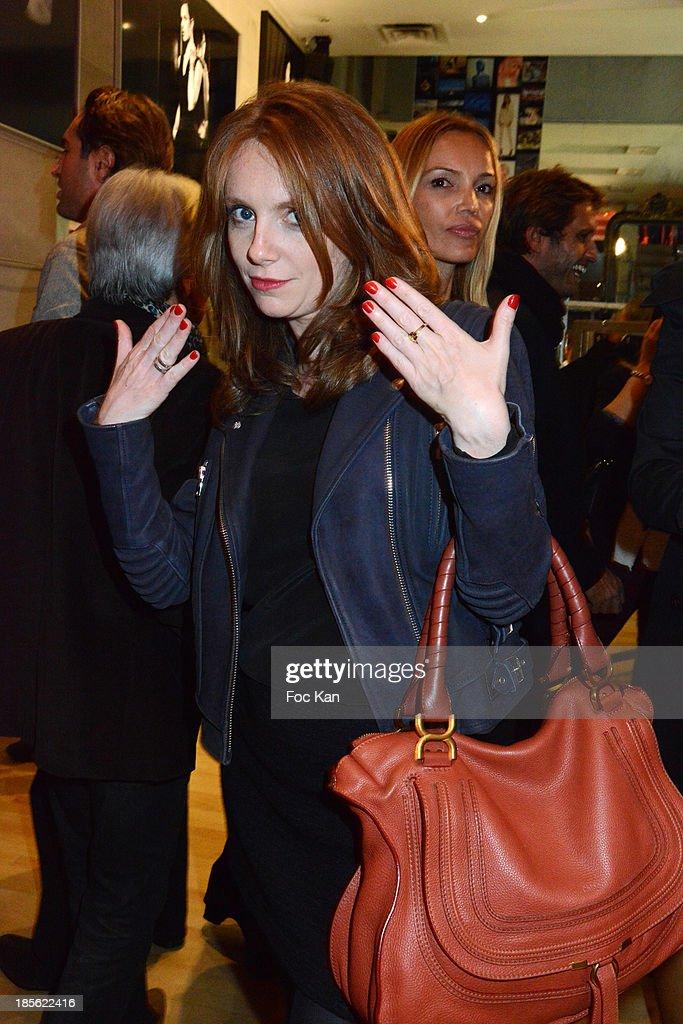 TV presenter Sophie Brafman attends the 'Renoma 50th Anniversary' at Renoma Store Rue de La Pompe on October 22, 2013 in Paris, France.