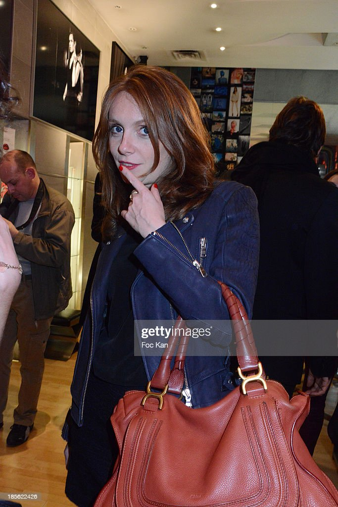 TV presenter Sophie Brafman attends the 'Renoma 50th Anniversary' at Renoma Store Rue de La Pompe on October 22, 2013 in Paris, France.