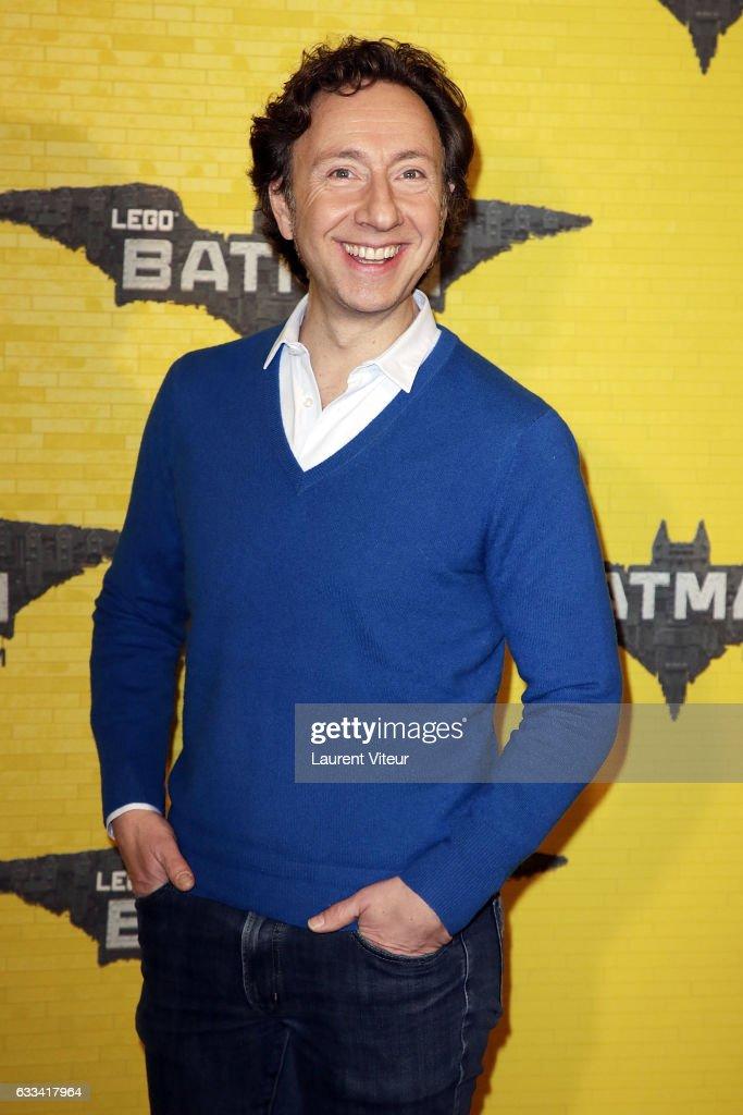 TV Presenter Stephane Bern attends 'Lego Batman' Paris Premiere at Le Grand Rex on February 1, 2017 in Paris, France.