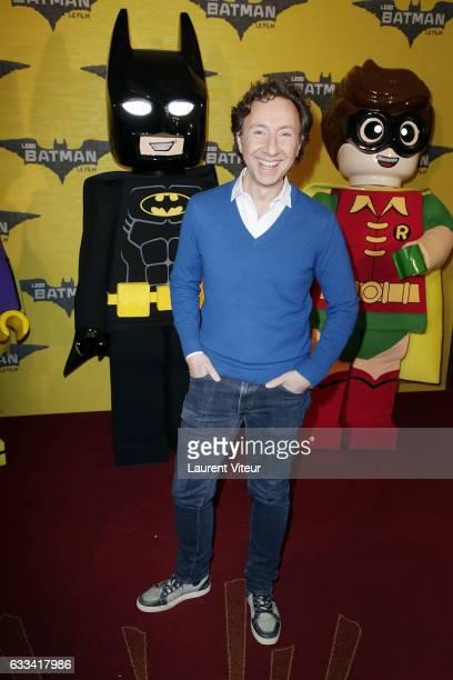 Presenter Stephane Bern attends 'Lego Batman' Paris Premiere at Le Grand Rex on February 1 2017 in Paris France