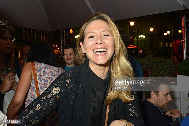 TV presenter Stephanie Loire attends 'La Boumette' Party at L'Opera Restaurant on June 7 2014 in Paris France