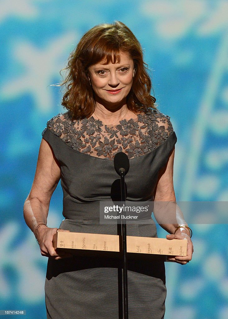 Presenter Susan Sarandon speaks onstage during the CNN Heroes: An All Star Tribute at The Shrine Auditorium on December 2, 2012 in Los Angeles, California. 23046_006_MB_1386.JPG