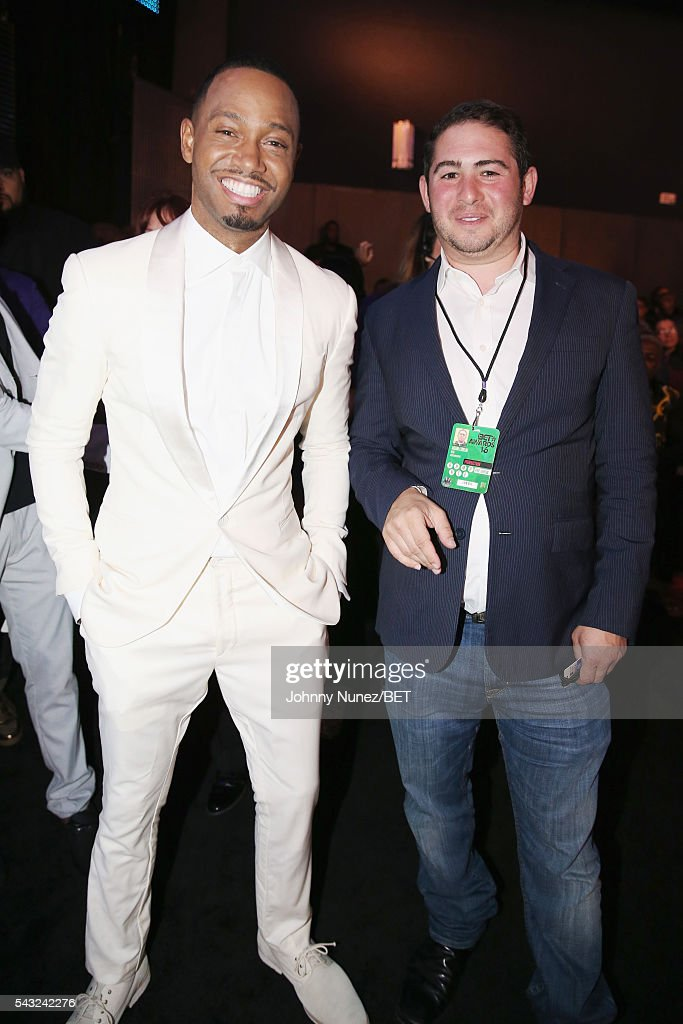 Presenter <a gi-track='captionPersonalityLinkClicked' href=/galleries/search?phrase=Terrence+J&family=editorial&specificpeople=4419581 ng-click='$event.stopPropagation()'>Terrence J</a>.(L) attends the 2016 BET Awards at the Microsoft Theater on June 26, 2016 in Los Angeles, California.