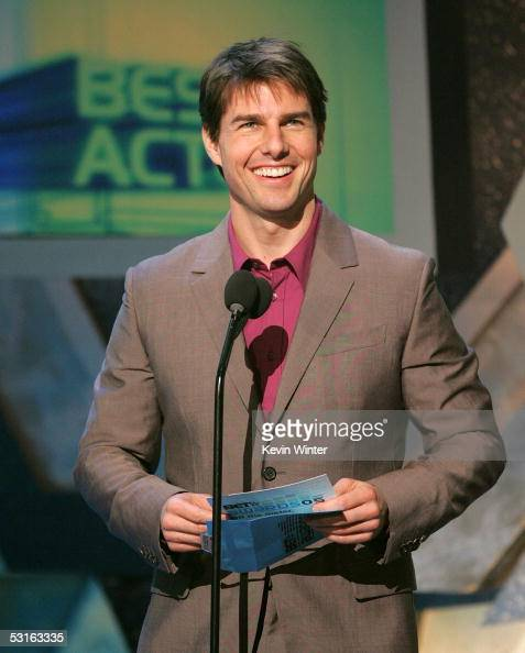Presenter Tom Cruise onstage at...
