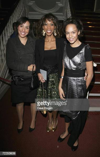 presenter Trisha Goddard and her...