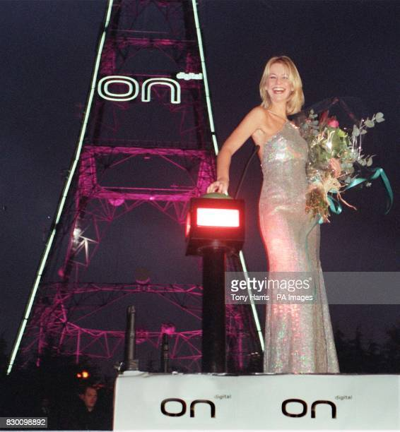 Presenter Ulrika Jonsson threw the switch on Ondigital to light up Crystal Palace transmitter in neon this evening ONdigital the world's first...