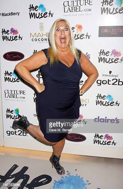 TV Presenter Vanessa Feltz attends the Muse Fashion TV Launch at Swarovski Crystallized on February 282012 in LondonEngland