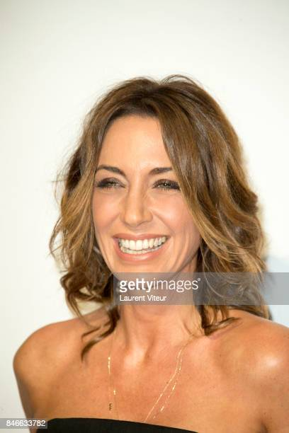 Presenter Virginie Guilhaume attends 19th Festival of TV Fiction Opening Ceremony on September 13 2017 in La Rochelle France