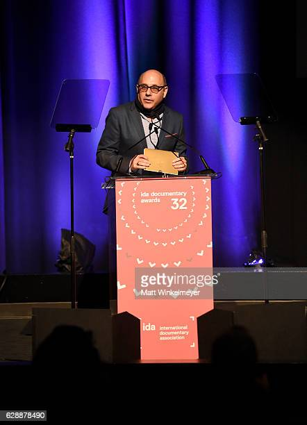 Presenter Willie Garson speaks onstage at the 32nd Annual IDA Documentary Awards at Paramount Studios on December 9 2016 in Hollywood California