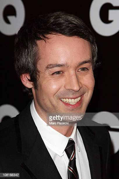 TV presenter Yann Barthes attends the 'GQ Man of the year 2010' at ShangriLa Hotel Paris on January 19 2011 in Paris France