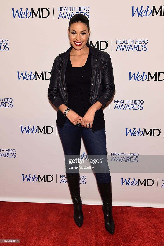 Presenter/musician Jordin Sparks arrives at the WebMD Hosts 2014 Health Hero Awards at Times Center on November 6 2014 in New York City