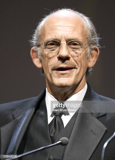 Presenters Christopher LLoyd during The 2007 Daytime Creative Arts and Entertainment EMMY Awards at Renaissance Ballroom in Los Angeles California...