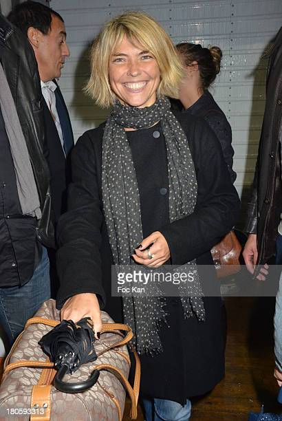 TV presenters Nathalie Vincent attends 'La Tele Chante' Party during La Fete A Neu Neu At La Porte De La Muette on September 14 2013 in Paris France