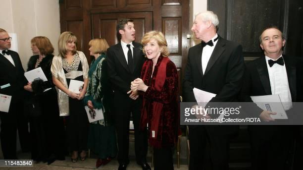 Presenters of the 'The Story of Christmas' Harry Enfield Samantha Bond Kim Medcalf Joanna David Dan Stevens Patricia Hodge Bob Wilson and Ian Hislop...