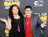 Presenters Raini Rodriguez and Rico Rodriguez attend the Third Annual Hall of Game Awards hosted by Cartoon Network at Barker Hangar on February 9...