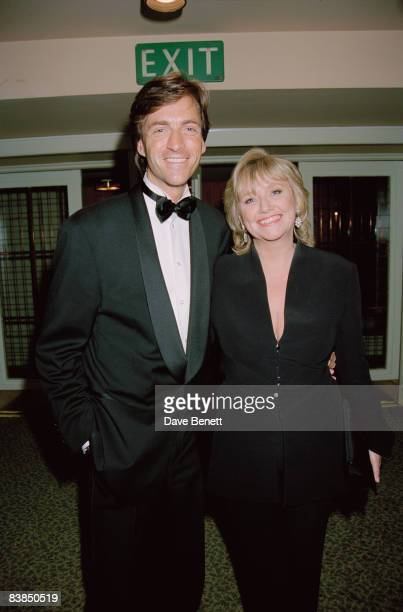 TV presenters Richard Madeley and Judy Finnigan at the BAFTA awards afterparty at Grosvenor House in London 21st April 1996