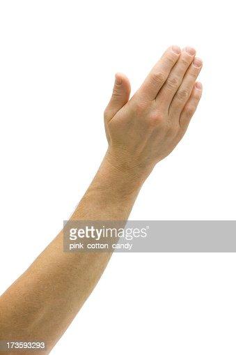 Presentación de mano