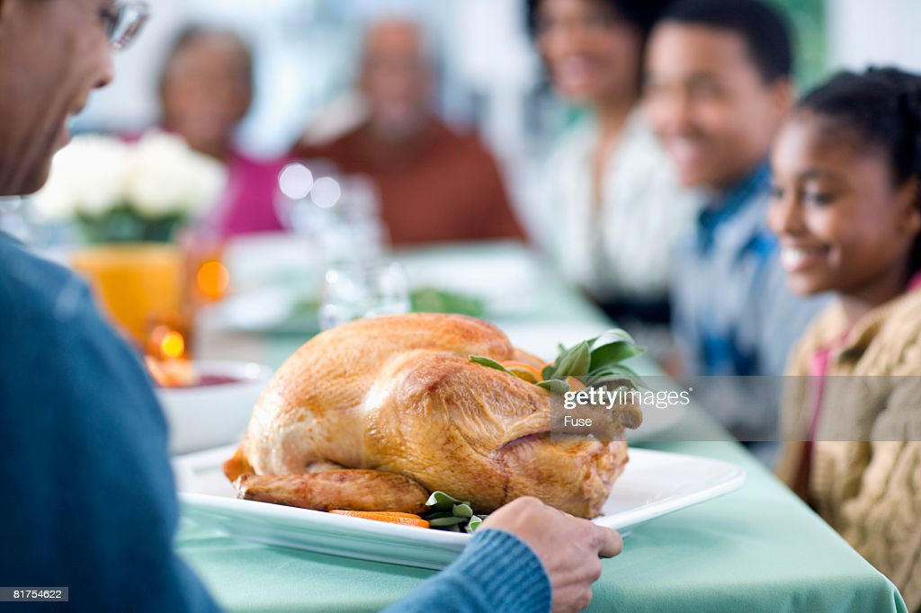Presenting the Turkey