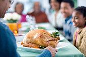 Presenting the Turkey