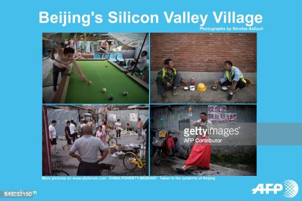 AFP presents a photo essay of 40 images by photographer Nicolas Asfouri on life in migrant villages in Beijing's Zhongguancun which is also the base...