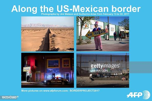 AFP presents an ongoing photo project documenting the life on the two sides of the US/Mexico border simultaneously by two photographers travelling...