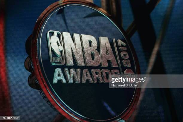 TNT presents the NBA Awards Show on June 26 2017 at Basketball City at Pier 36 in New York City New York NOTE TO USER User expressly acknowledges and...